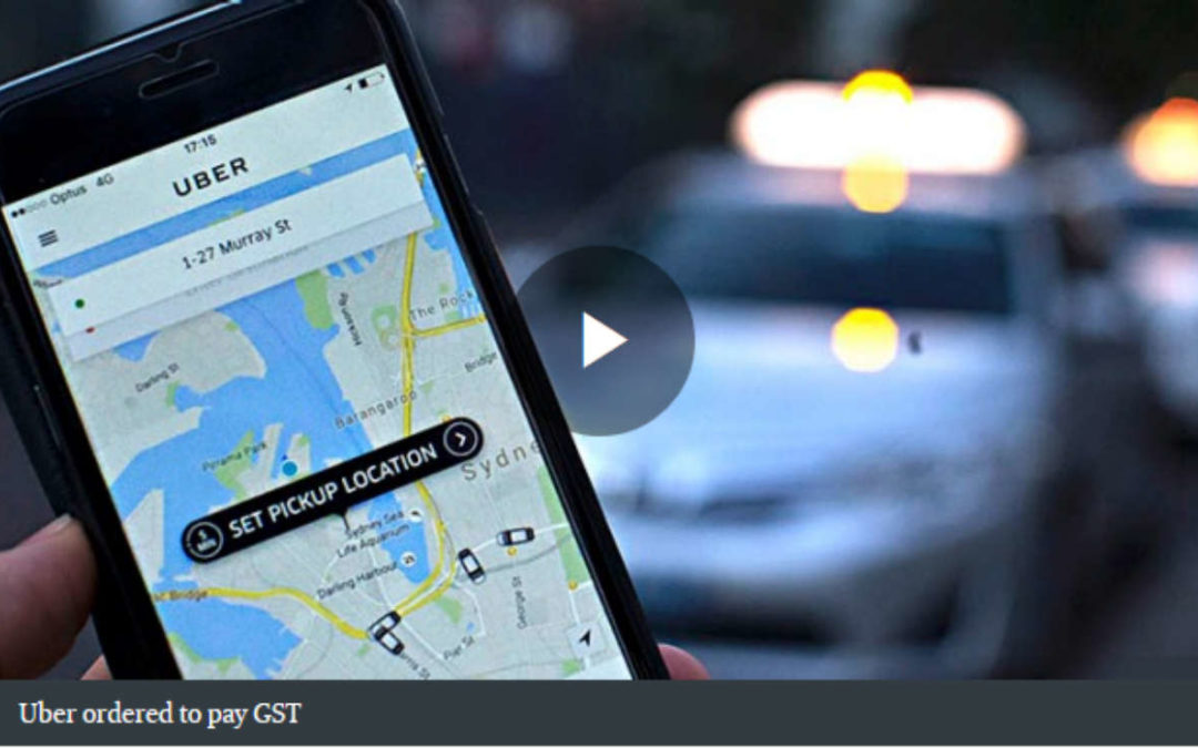 Uber Loses GST fight with the Tax Office