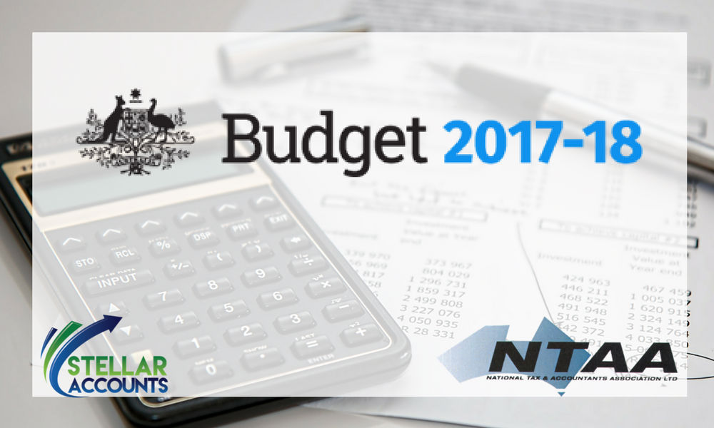 Federal Budget 2017-2018 Summary by NTAA