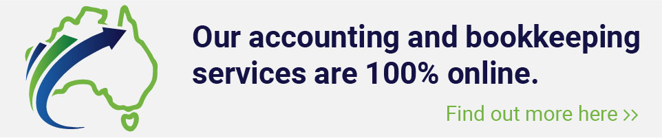 Our accounting and bookkeeping services are 100% online. Find out More here >>